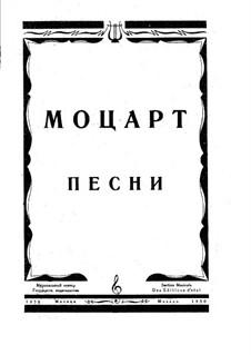Lieder für Stimme und Klavier: Vollsammlung by Wolfgang Amadeus Mozart