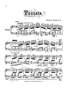 Toccata, Op.37: Takkata by William Mason