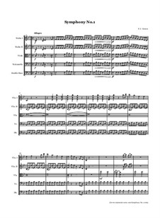 Sinfonie Nr.1 in B-Dur: Für Streichorchester by François Joseph Gossec