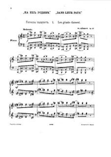 Dans leur pays, Op.27: Dans leur pays by Wladimir Rebikow