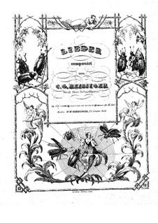 Zwei Lieder, Op.135: Zwei Lieder by Carl Gottlieb Reissiger