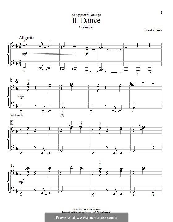 Tanz: Für Klavier, vierhändig by Naoko Ikeda