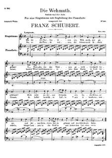 Die Herbstnacht (Die Wehmut), D.404: Die Herbstnacht (Die Wehmut) by Franz Schubert
