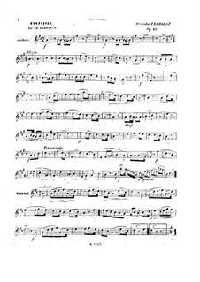 Fantasie über 'Le Planteur de Monpou', Op.12: Fantasie über 'Le Planteur de Monpou' by Stanislas Verroust