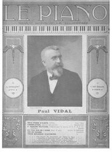 Deux pages d´album: Deux pages d´album by Paul Vidal