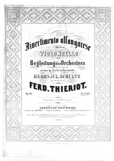 Divertimento all' Ongarese, Op.10: Divertimento all' Ongarese by Ferdinand Thieriot