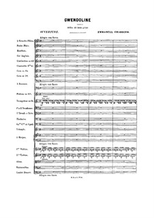 Gwendoline: Ouvertüre by Emmanuel Chabrier