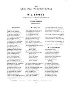 Lied vom Frauenherzen. Melodrama: Lied vom Frauenherzen. Melodrama by Heinrich Proch