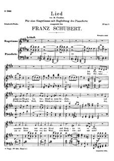 Zufriedenheit, D.501: E-Dur by Franz Schubert