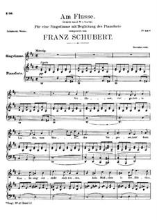 Am Flusse, D.766: D-Dur by Franz Schubert