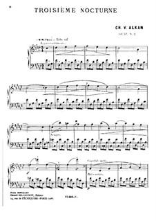Zwei Nocturnes für Klavier, Op.57: Nocturne Fis-Dur by Charles-Valentin Alkan
