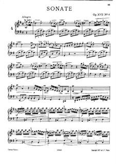 Nr.4 in G-Dur, W A10a: Nr.4 in G-Dur by Johann Christian Bach