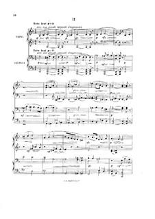 Sinfonie in B-Dur, Op.20: Teil II. Bearbeitung für Klavier, vierhändig by Ernest Chausson