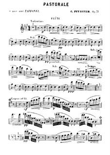 Pastorale für Holzbläserquintett, Op.71: Pastorale für Holzbläserquintett by Georges Jean Pfeiffer