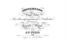 Concertino für Klavier und Orchester, Op.68: Concertino für Klavier und Orchester by Johann Peter Pixis