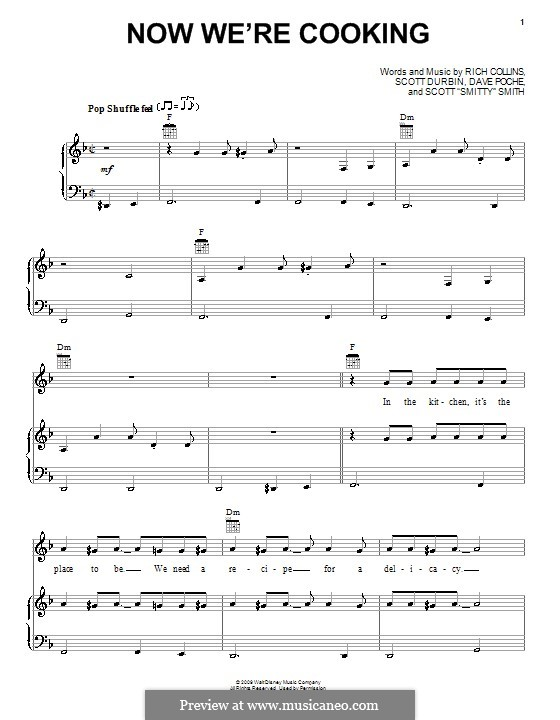 Now We're Cooking (Imagination Movers): Für Stimme und Klavier (oder Gitarre) by Dave Poche, Rich Collins, Scott Durbin, Scott Smith