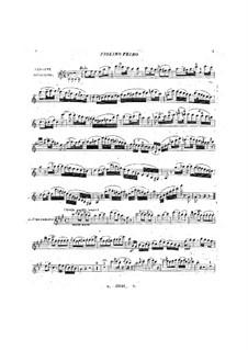 Quartett für Streicher, BI 411: Quartett für Streicher by Alessandro Rolla