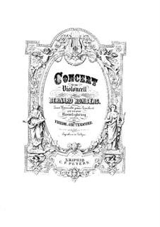 Cellokonzert Nr.3 in G-Dur, Op.6: Version für Cello und Klavier by Bernhard Romberg