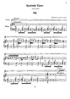 Vito and Habanera, Op.26: Vito and Habanera by Pablo de Sarasate