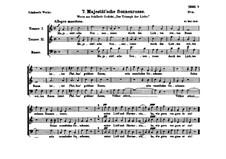 Majestät'sche Sonnenrosse, D.64: Majestät'sche Sonnenrosse by Franz Schubert