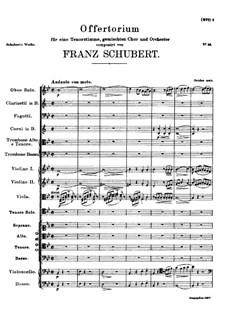 Intende voci orationis meae, D.963: Intende voci orationis meae by Franz Schubert