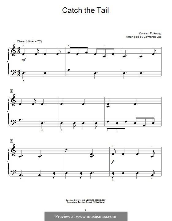 Catch the Tail: Für Klavier by folklore