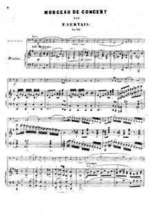 Konzertstück für Cello und Klavier, Op.14: Konzertstück für Cello und Klavier by Adrien-François Servais