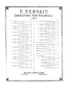 Fantasie und Variationen über Walzer von Schubert, Op.4: Fantasie und Variationen über Walzer von Schubert by Adrien-François Servais