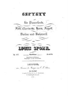Septett in a-Moll, Op.147: Septett in a-Moll by Louis Spohr