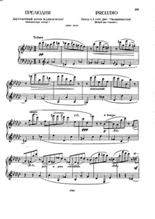 Präludium in Ges-Dur: Präludium in Ges-Dur by Alexei Stantschinski