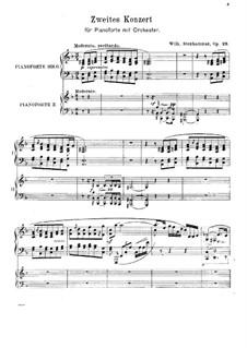 Klavierkonzert Nr.2, Op.23: Klavierkonzert Nr.2 by Wilhelm Stenhammar