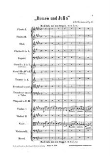 Romeo und Julia. Fantasie, Op.18: Romeo und Julia. Fantasie by Johan Svendsen