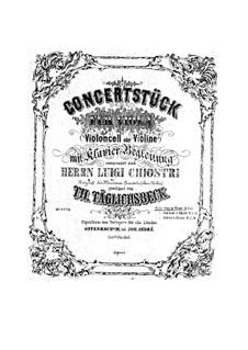 Koncertstück für Bratsche (oder Cello, oder Violine) und Klavier, Op.49: Koncertstück für Bratsche (oder Cello, oder Violine) und Klavier by Thomas Täglichsbeck
