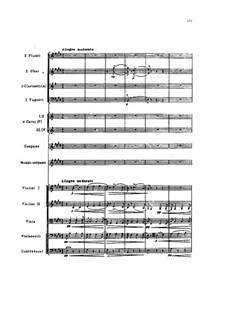 Sechs Duos für zwei Stimmen und Klavier, TH 102 Op.46: No.6 Dawn. Version for two voices and orchestra by Pjotr Tschaikowski