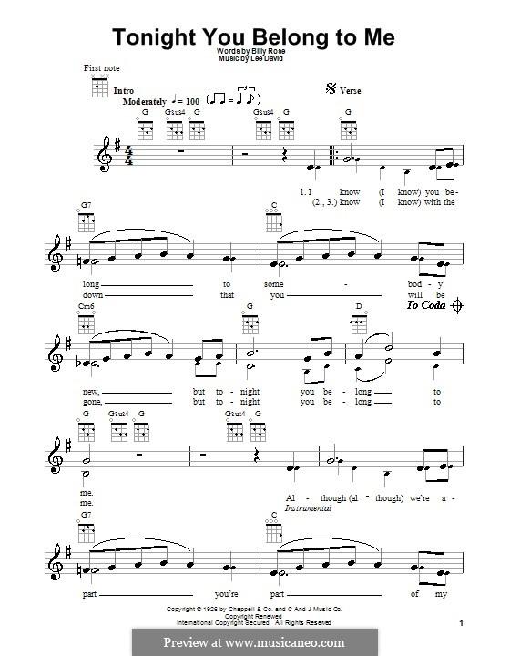 Too Bad: Für Ukulele by Eric Clapton