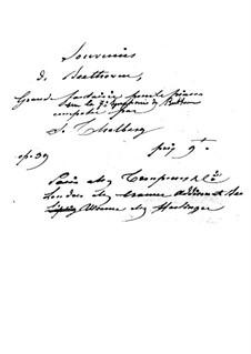 Fantasie über Symphonie Nr.7 von Beethoven, Op.39: Fantasie über Symphonie Nr.7 von Beethoven by Sigismond Thalberg