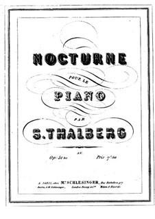 Nokturne in H-Dur, Op.51bis: Nokturne in H-Dur by Sigismond Thalberg
