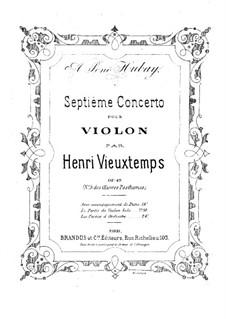 Violinkonzert Nr.7, Op.49: Violinkonzert Nr.7 by Henri Vieuxtemps