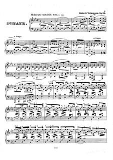 Sonate für Klavier in c-moll, Op.12: Sonate für Klavier in c-moll by Robert Volkmann