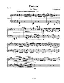 Fantasie No.2, Op.1: Fantasie No.2 by Jason Woodruff