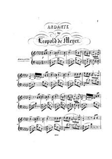 Andante in Ges-Dur, Op.21: Andante in Ges-Dur by Leopold de Meyer