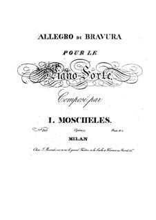 Allegro di Bravura, Op.77: Allegro di Bravura by Ignaz Moscheles