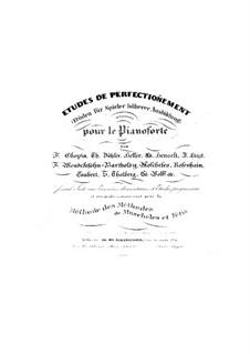 Etuden für Spieler höherer Ausbildung, Op.98: Vollsammlung by Ignaz Moscheles