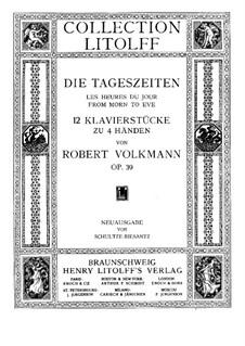 Die Tageszeiten, Op.39: Die Tageszeiten by Robert Volkmann