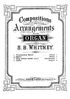 Canon in Octave: Canon in Octave by Samuel Brenton Whitney