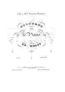 Nocturne in As-Dur, Op.46: Für Klavier by Edouard Wolff