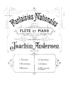 National Fantasias, Op.59: No.6 Hongrois by Joachim Andersen