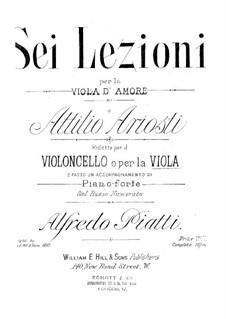 Sei Lezioni: Lezione No.6 in D Major by Attilio Ariosti