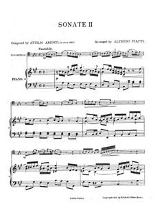 Sei Lezioni: Lezione No.2 in A Major by Attilio Ariosti