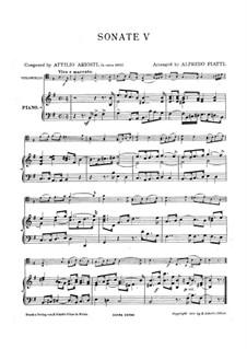 Sei Lezioni: Lezione No.5 in E Minor by Attilio Ariosti